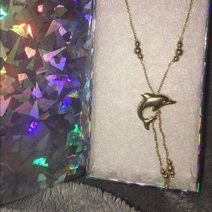 Jewelry - 14K Gold Dolphin Necklace